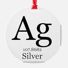 Elements - 47 Silver Ornament