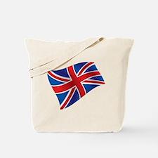 Union Jack - British Flag Tote Bag