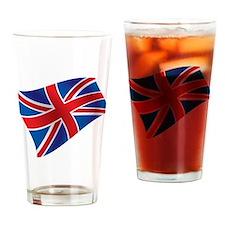 Union Jack - British Flag Drinking Glass