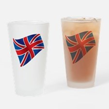 Union Jack - British Flag Drinking Glass