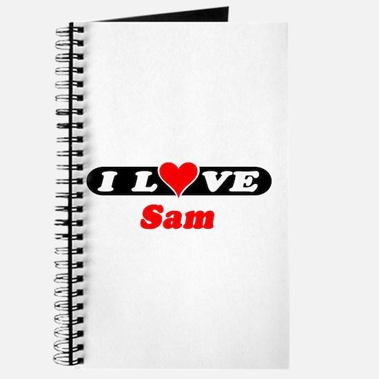 I Love Sam Journal