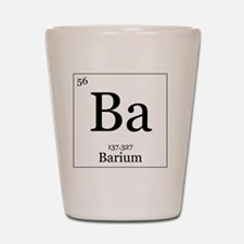 Elements - 56 Barium Shot Glass