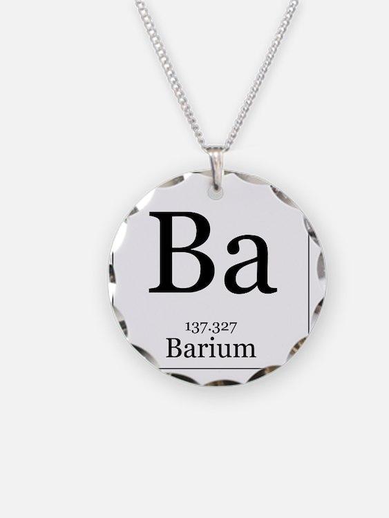 Elements - 56 Barium Necklace
