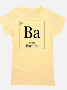 Elements - 56 Barium Girl's Tee