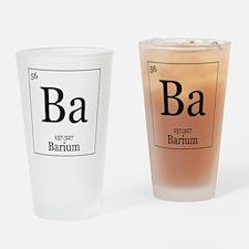 Elements - 56 Barium Drinking Glass