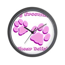 Dog Grooming A Shear Delight. Wall Clock