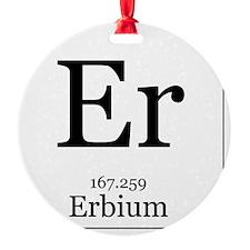 Elements - 68 Erbium Ornament