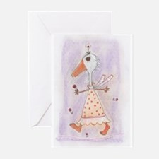 Silko Daisy Duck Greeting Cards (Pk of 10)