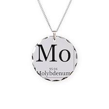 Elements - 42 Molybdenum Necklace Circle Charm