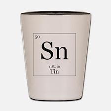 Elements - 50 Tin Shot Glass