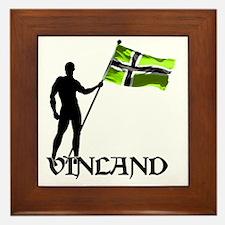Vinland Patriot Framed Tile
