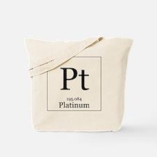 Elements - 78 Platinum Tote Bag