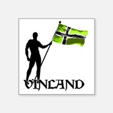 "Vinland Patriot Square Sticker 3"" x 3"""