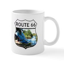 route 66 - blue whale  Mug