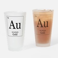 Elements - 79 Gold Drinking Glass