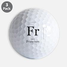 Elements - 87 Francium Golf Ball