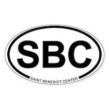 SBC Oval Decal