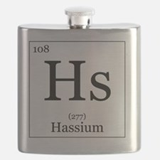 Elements - 108 Hassium Flask