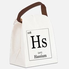 Elements - 108 Hassium Canvas Lunch Bag