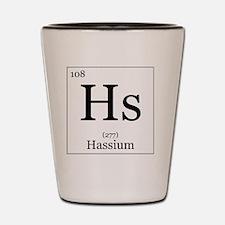 Elements - 108 Hassium Shot Glass