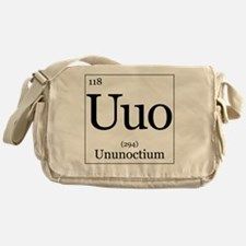Elements - 118 Ununoctium Messenger Bag