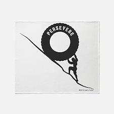 Persevere Throw Blanket