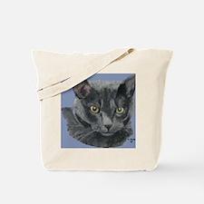 American Shorthair Gray Cat Tote Bag