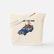 Custom Family Car Trip Tote Bag