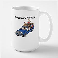 Custom Family Car Trip Mugs