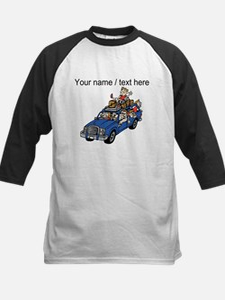 Custom Family Car Trip Baseball Jersey