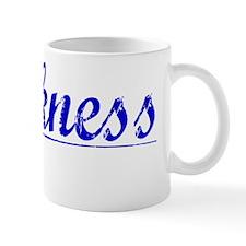 Harkness, Blue, Aged Mug
