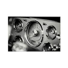 1956_packard_caribbean_dashboard_ Rectangle Magnet