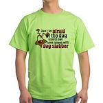 Dog Slobber Green T-Shirt