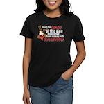 Dog Slobber Women's Dark T-Shirt