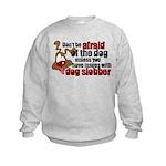 Dog Slobber Kids Sweatshirt