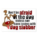 Dog Slobber Postcards (Package of 8)