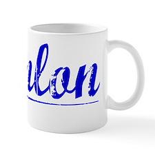 Hanlon, Blue, Aged Mug