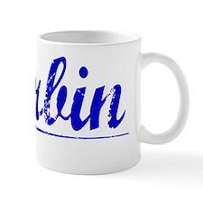 Harbin, Blue, Aged Mug