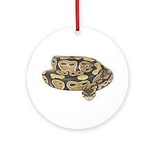 Ball Python Photo Ornament (Round)