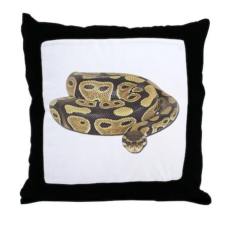 Ball Python Photo Throw Pillow