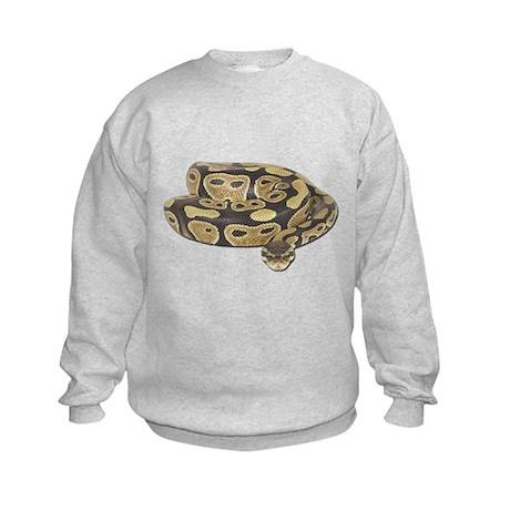 Ball Python Photo Kids Sweatshirt