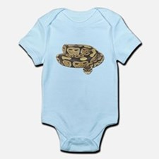 Ball Python Photo Infant Bodysuit