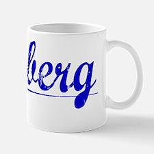 Hedberg, Blue, Aged Mug