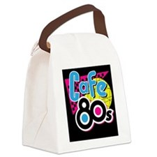 Cafe 80s Canvas Lunch Bag