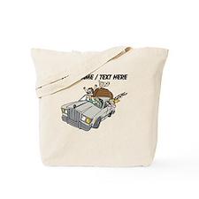 Custom Family Camping Trip Tote Bag
