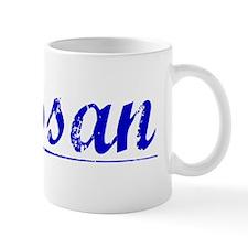 Hassan, Blue, Aged Mug
