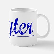 Hayter, Blue, Aged Mug