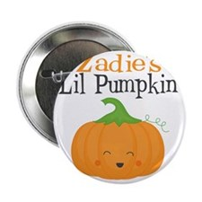 "Zadies Little Pumpkin 2.25"" Button"