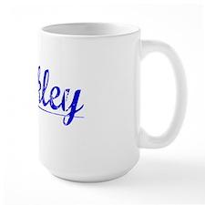 Hinkley, Blue, Aged Mug