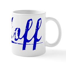 Althoff, Blue, Aged Small Mug